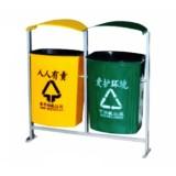 A39玻璃钢小区环保垃圾桶 室外分类垃圾桶
