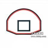 A022弧形健身篮球板