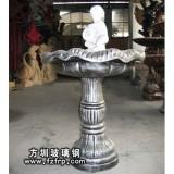 HP177室外欧式玻璃钢喷泉花盆 小区喷泉花盆