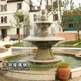 HP173室外观赏喷泉花盆 艺术喷泉花盆设计