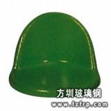 B076绿色矮靠背排座玻璃钢凳面