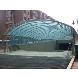 阳光板雨棚_不锈钢阳光板雨棚价格
