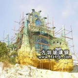 FD009仿砂岩大型雕塑工程
