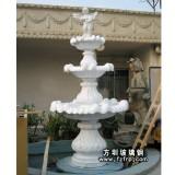 HP168玻璃钢喷泉花盆设计 小区、广场喷泉花盆定做