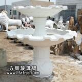 HP166玻璃钢欧式喷泉花盆