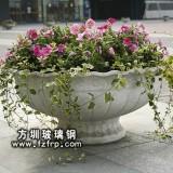 HP156玻璃钢户外欧式盆景花盆