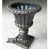 HP143玻璃钢仿铜盆景花盆