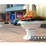 HP116玻璃钢欧式花盆定做 广场砂岩花盆批发