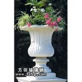 HP115玻璃钢欧式花盆批发 砂岩大花盆