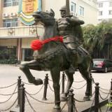YD-008小区门口装饰雕塑 欧式骑士人物雕塑