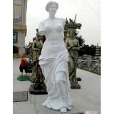 YD-038欧式风格玻璃钢人物圆雕