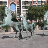 YD-049学校园区铸铜雕塑定做 青铜雕塑学校浮雕文化背景墙设计