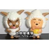 GZ-007动漫卡通雕塑 喜洋洋美羊羊雕塑