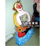 GZ-025玻璃钢卡通人物雕塑 孙悟空造型外壳圆雕