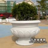 HP114广场玻璃钢欧式花盆图片 玻璃钢砂岩花盆价格量大便宜