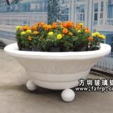 HP113玻璃钢仿砂岩花盆 欧式大型花盆价格