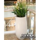 HP101玻璃钢室内景观花盆批发