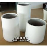 HP099组合型多规格花瓶批发 椭圆形玻璃钢花瓶柱子