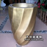 HP097玻璃钢室内装饰花瓶价格