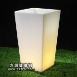 HP014发光家居花盆 透明室内装饰花盆图片