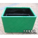 HP008正方形玻璃钢花盆出售 深圳花盆批发商推荐广场花盆