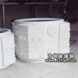 HP053玻璃钢砂岩花盆定做 仿石花盆价格更优