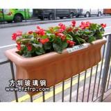 HP034悬挂式花盆 道路绿化悬挂花盆价格