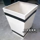 HP030简约式玻璃钢花盆—方形玻璃钢花盆