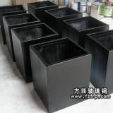HP005正方形玻璃钢花盆 户外花盆图片 深圳花盆批发商价格便宜