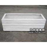 HP022玻璃钢户外长方形花盆 仿木纹玻璃钢花盆价格