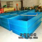 方圳玻璃钢为林先生水产养殖定制玻璃钢水箱