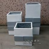 HP203玻璃钢组合花盆生产设计