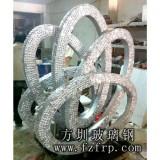玻璃钢水钻雕塑_玻璃钢雕塑公司