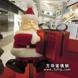 商场圣诞老人雕塑