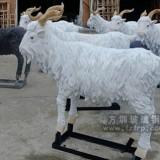 玻璃钢绵羊雕塑