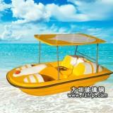 玻璃钢游船(2人位脚踏船)