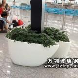 机场高铁大厅花盆