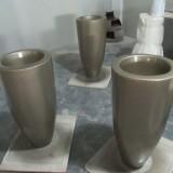 福建景观工程定做玻璃钢组合花瓶