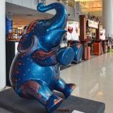商场大象美陈雕塑