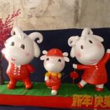 羊年春节庆典美陈