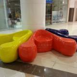 商场休闲坐凳