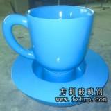 茶杯型玻璃钢美陈花盆