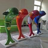 海豚玻璃钢雕塑