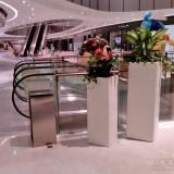 艺术玻璃钢花缸美陈佛山大型购物中心