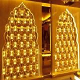 玻璃钢镀金装饰墙