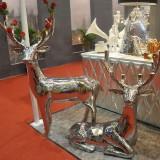 玻璃钢镀金工艺品