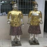 玻璃钢马赛克人物雕塑