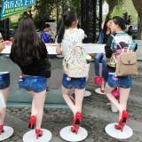 广州玻璃钢裤型坐凳