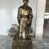 广州玻璃钢李时珍雕塑