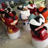 广州创意卡通公仔雕塑